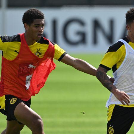 Bellingham, Sancho'nun Dortmund