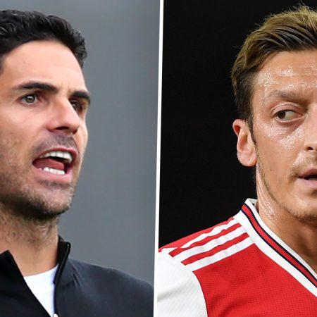 'Kimseyi taşıyamazsınız' – Leicester patronu Rodgers, Arteta'yı Ozil dışlaması