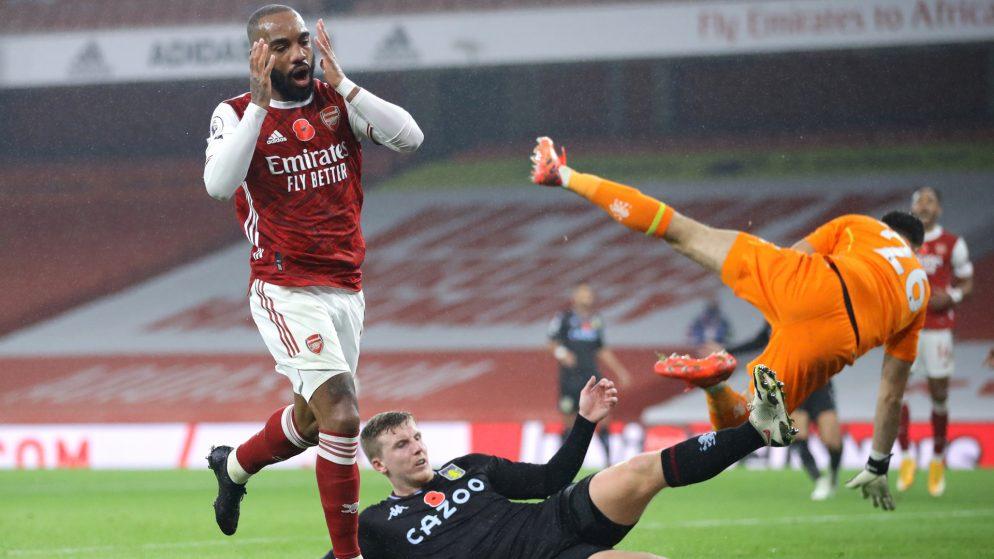"""""""Bir Arsenal tarafında gördüğüm kadar kötü bir performans"""" – Wright, Aston Villa'nın"""