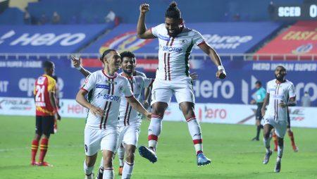 Doğu Bengal 0-2 ATK Mohun Bagan: Roy Krishna, Manvir Singh, Kolkata derbi galibiyetini