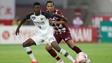 Olunga ve Kashiwa Reysol'un Tokyo FC ile J-League Kupası beraberliği