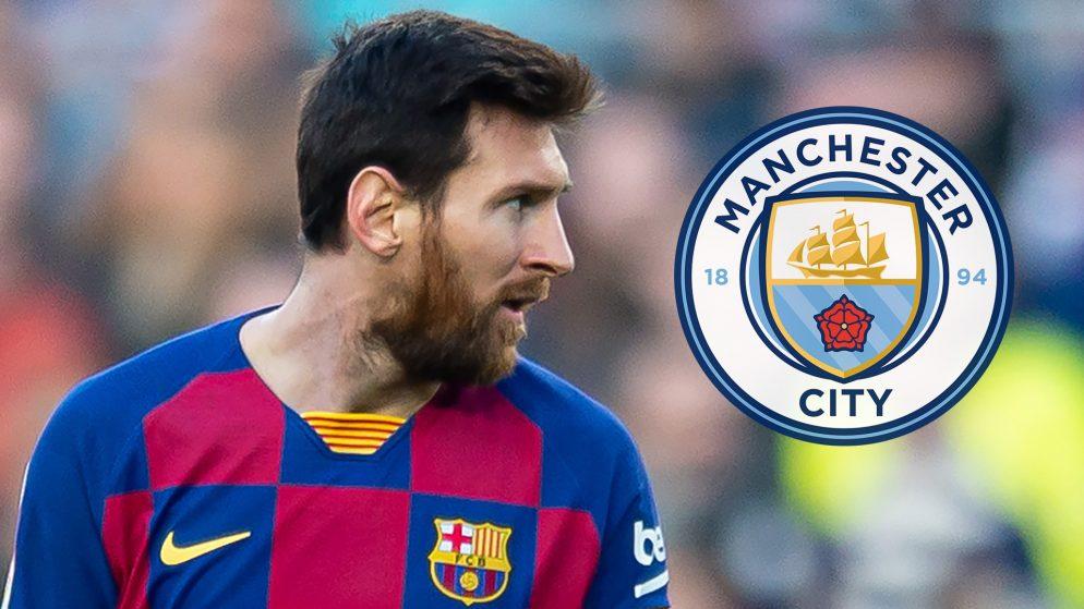 Zabaleta: Man City, Messi